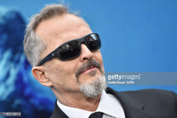 Miguel Bose attends the premiere of Warner Bros Pictures and Legendary Pictures' Godzilla King of the Monsters at TCL Chinese Theatre on May 18 2019...