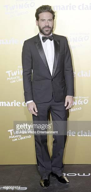 Miguel Carrizo attends Marie Claire Prix de la Moda Awards 2015 at Callao cinema on November 19 2015 in Madrid Spain