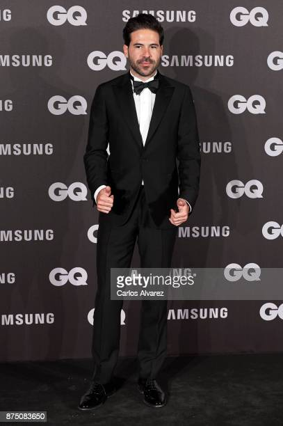 Miguel Carrizo attends the 'GQ Men of the Year' awards 2017 at the Palace Hotel on November 16 2017 in Madrid Spain