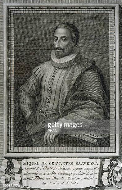 Miguel de Cervantes Spanish writer Portrait