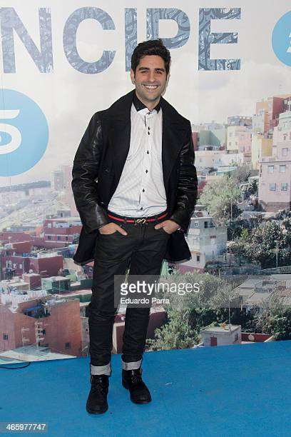 Miguel Diosdado attends 'El principe' premiere at Callao cinema on January 30 2014 in Madrid Spain