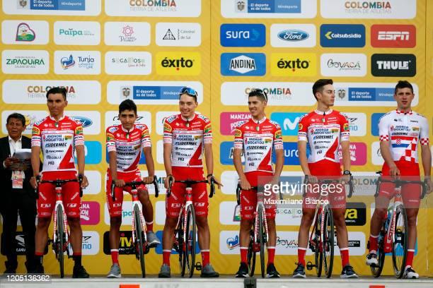 Miguel Eduardo Florez Lopez of Colombia and Team Androni Giocattoli - Sidermec / Daniel Muñoz Giraldo of Colombia and Team Androni Giocattoli -...
