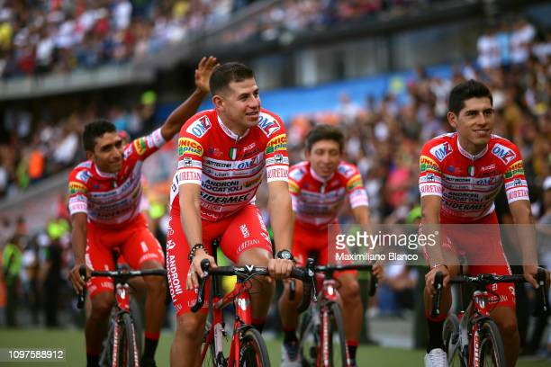 Miguel Eduardo Flórez of Colombia and Team Androni Giocattoli Sidermec / Daniel Muñoz of Colombia and Team Androni Giocattoli Sidermec / during the...