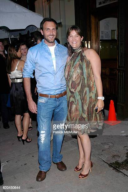 Miguel Fabregas and Vanessa Weiner von Bismarck attend MODO Opens First Global Flagship Store at MODO Downtown Store on June 5 2008 in New York City