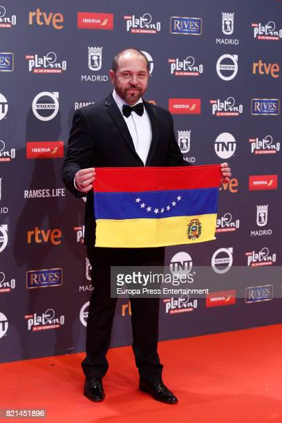 Miguel Ferrari attends Platino Awards 2017 at La Caja Magica on July 22 2017 in Madrid Spain