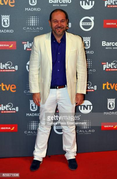 Miguel Ferrari attends the Platino Awards 2017 welcome Party on July 20 2017 in Madrid Spain