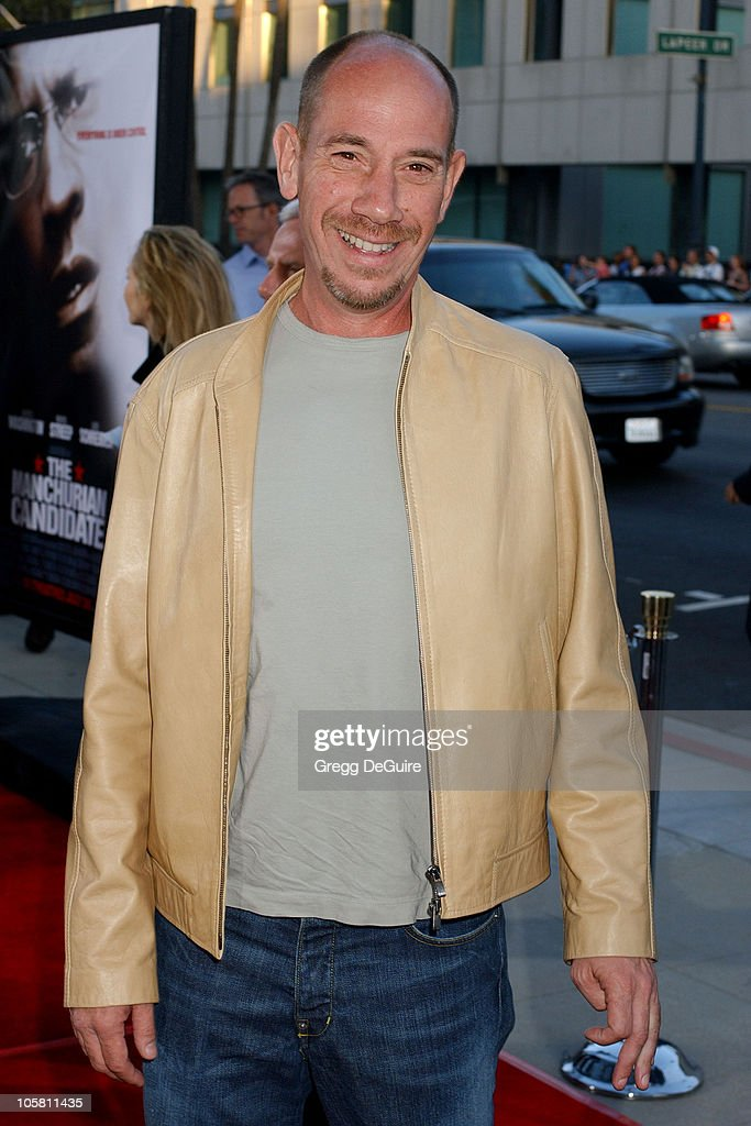 Miguel Ferrer during 'The Manchurian Candidate' Los Angeles Premiere at The Academy in Beverly Hills, California, United States.