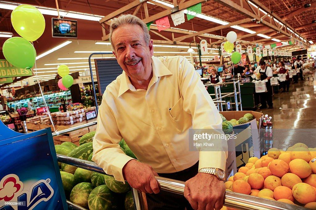 Northgate Gonzalez Supermarket  >> Miguel Gonzalez Reynoso At His Supermarket Northgate Market In