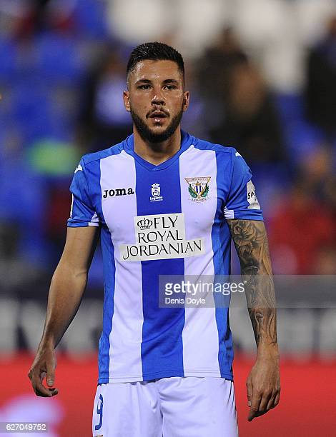 Miguel Guerrero of CD Leganes looks on during the Copa del Rey Round of 32 match between CD Leganes and Valencia CF at Estadio Municipal de Butarque...
