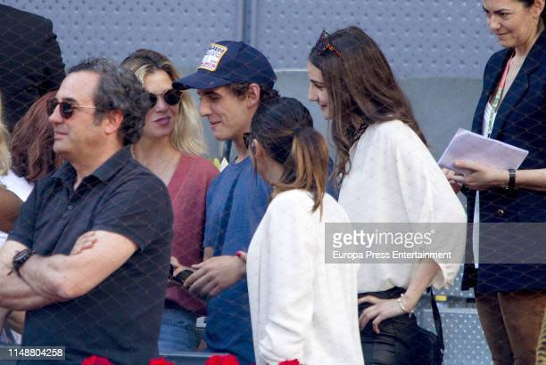Miguel Herran attends Mutua Madrid Open at Caja Magica on May 11 2019 in Madrid Spain