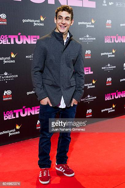 Miguel Herranz attends 'Los Del Tunel' premiere during the Madrid Premiere Week at Callao Cinema on November 21 2016 in Madrid Spain