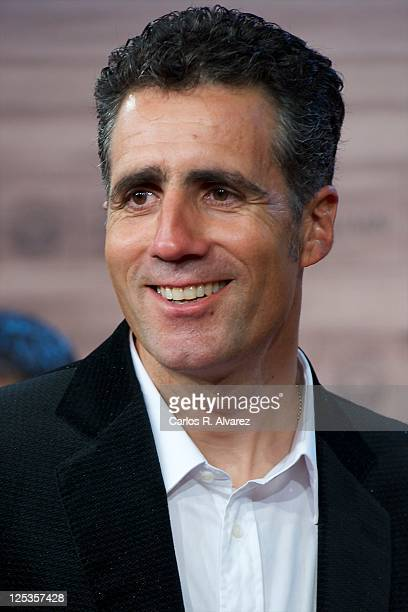 """Miguel Indurain attends """"Intruders"""" premiere at the Kursaal Palace during the 59th San Sebastian International Film Festival on September 16, 2011 in..."""