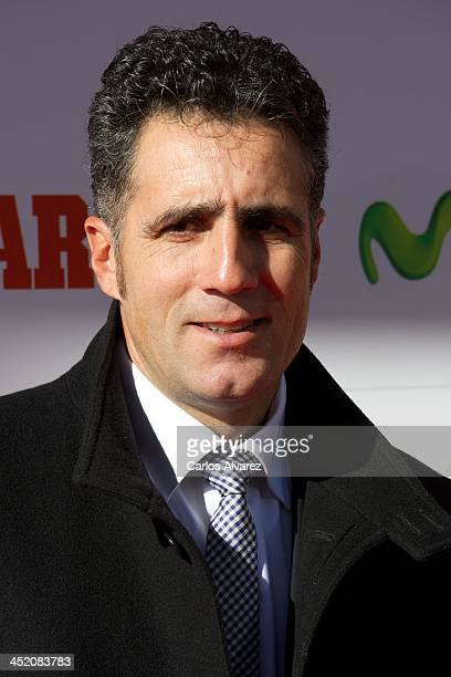 Miguel Indurain attends the 'Marca' award 75th anniversary at the Callao cinema on November 26 2013 in Madrid Spain