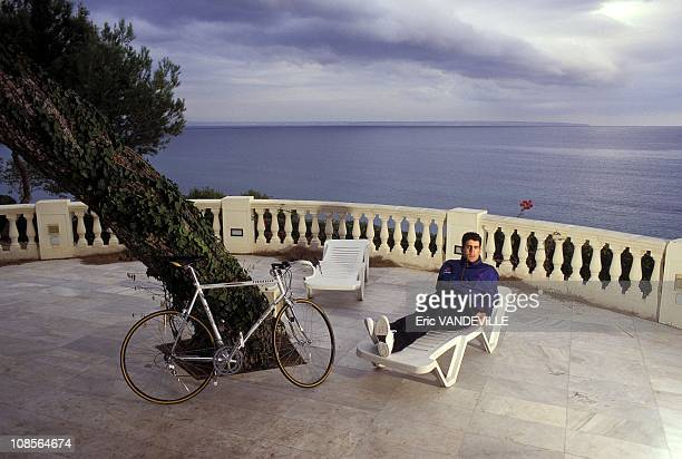 Miguel Indurain in Palma, Spain in February, 1996.