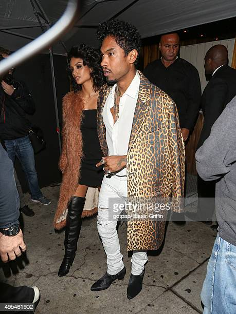 Miguel is seen on November 02 2015 in Los Angeles California