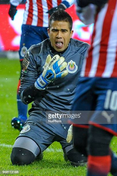 Miguel Jimenez during the 2018 CONCACAF Champions League Final match between Toronto FC and CD Chivas Guadalajara at BMO Field in Toronto Canada on...