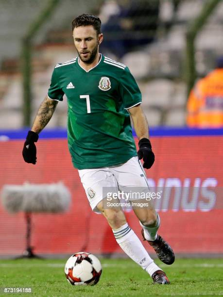 Miguel Layun of Mexico during the International Friendly match between Belgium v Mexico at the Koning Boudewijnstadion on November 10 2017 in Brussel...