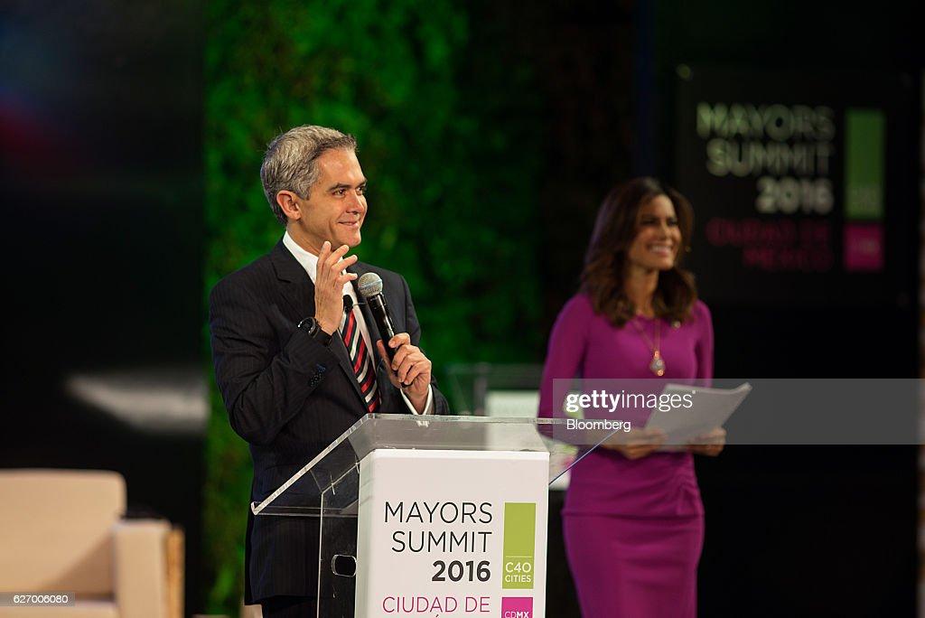 Key Speakers At the C40 Mayors Summit