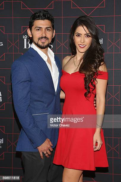 Miguel Martinez and Daniela Basso attend Los Bellos de TvYNovelas 2016 at Bosque de Chapultepec on August 31 2016 in Mexico City Mexico