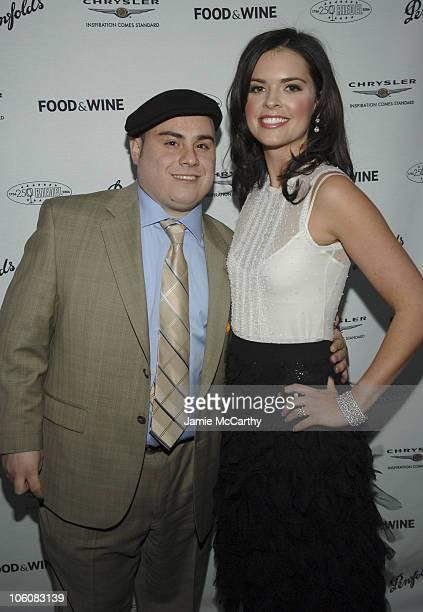Miguel Morales of Bravo's Top Chef and Katie Lee Joel