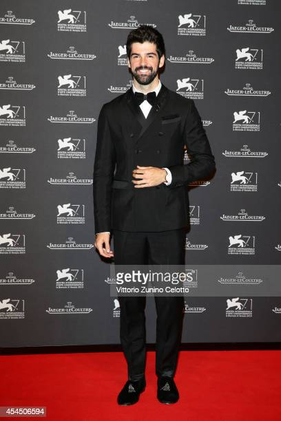 Miguel Munoz Angel arrives wearing a Jaeger-LeCoultre watch for a gala dinner hosted by Jaeger-LeCoultre at Scuola Grande di San Rocco during the...
