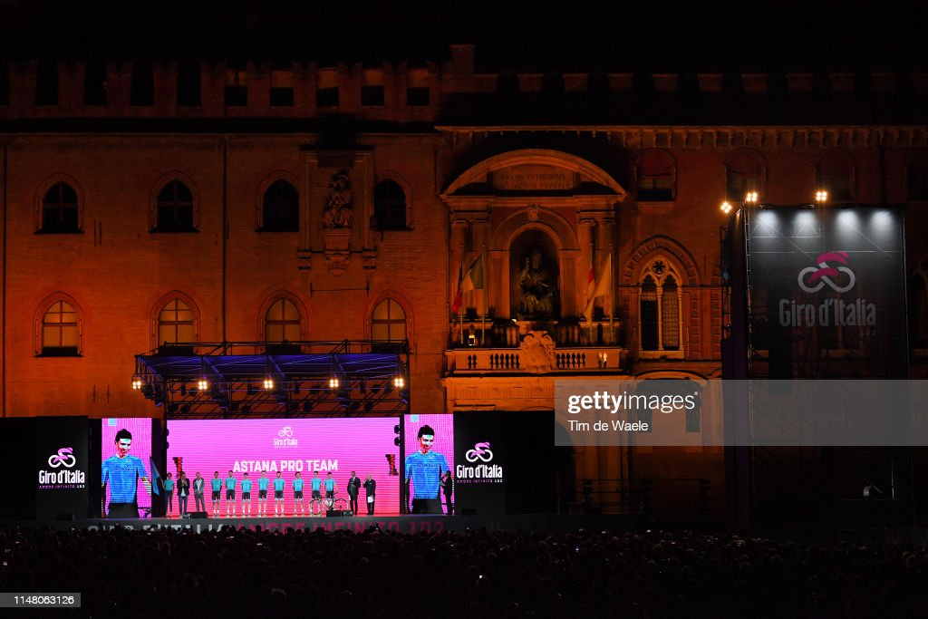 102nd Giro d'Italia 2019 - Team Presentation : News Photo