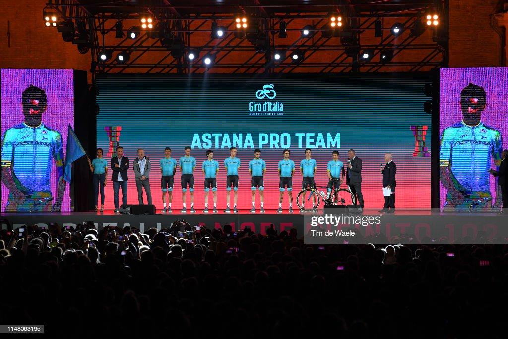 102nd Giro d'Italia 2019 - Team Presentation : News Photo