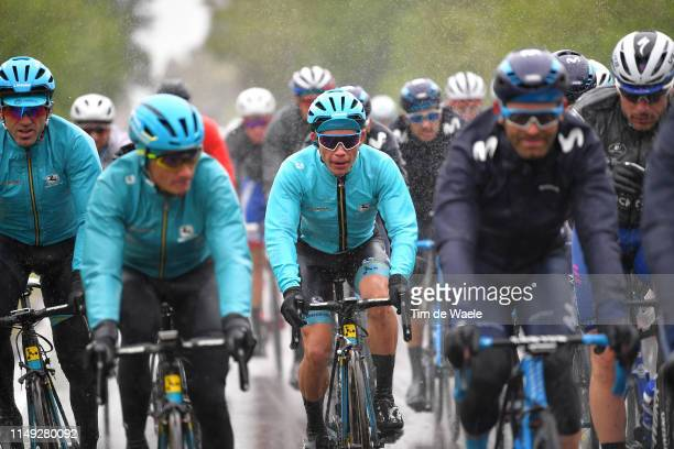 Miguel Ángel López Moreno of Colombia and Astana Pro Team White Best Young Jersey / during the 102nd Giro d'Italia 2019, Stage 5 a 140km stage from...