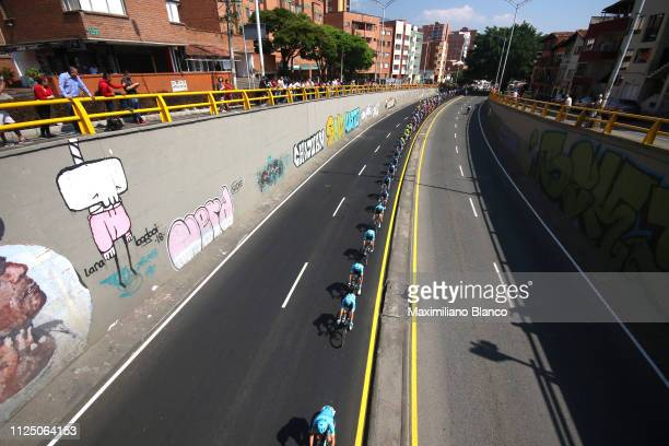 Miguel Ángel López of Colombia and Astana Pro Team / Peloton / Landscape / during the 2nd Tour of Colombia 2019, Stage 4 a 144,4km race from Medellin...