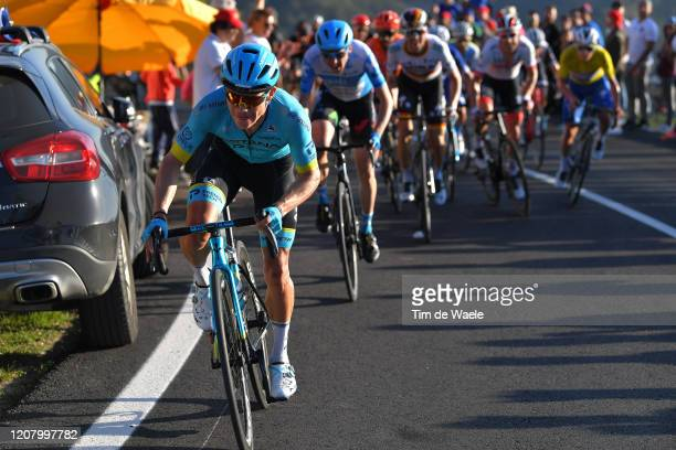 Miguel Ángel López of Colombia and Team Astana Pro Team / Dan Martin of Ireland and Team Israel Start-Up Nation / Maximilian Schachmann of Germany...