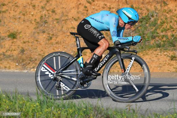 Miguel Ángel López of Colombia and Team Astana Pro Team / during the 46th Volta ao Algarve 2020, Stage 5 a 20,3km Individual Time Trial stage from...