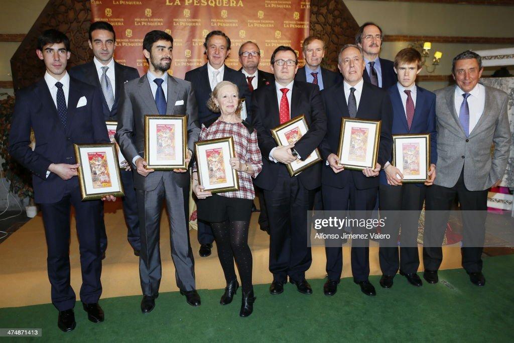 Bullfight Awards 'La Pesquera' 2014