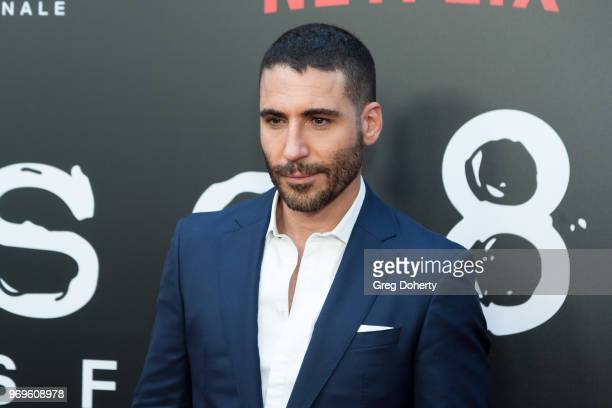 Miguel Ángel Silvestre attends Netflix's Sense8 Series Finale Fan Screening at ArcLight Hollywood on June 7 2018 in Hollywood California