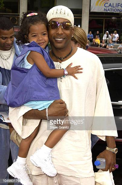 Miguel Nunez daughter Micole during ScoobyDoo Premiere at Grauman's Chinese Theater in Hollywood California United States