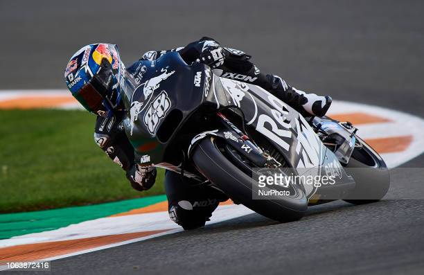 Miguel Oliveira of Portugal and Red Bull KTM Tech3 during the test of the new MotoGP season 2019 at Ricardo Tormo Circuit in Valencia Spain on 20th...