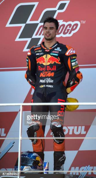 Miguel Oliveira Red Bull Ktm Ajo Ktm during the race day of the Gran Premio Motul de la Comunitat Valenciana Circuit of Ricardo TormoValencia Spain...