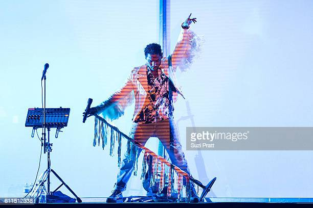Miguel performs at KeyArena on September 29 2016 in Seattle Washington