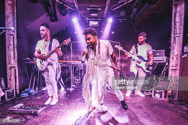 Miguel performs at XOYO on June 18 2015 in London United Kingdom