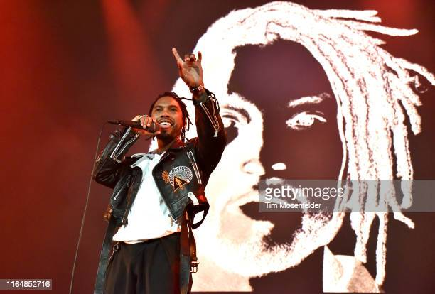 Miguel performs during 1061 KMEL's Summer Jam at ORACLE Arena on July 28 2019 in Oakland California