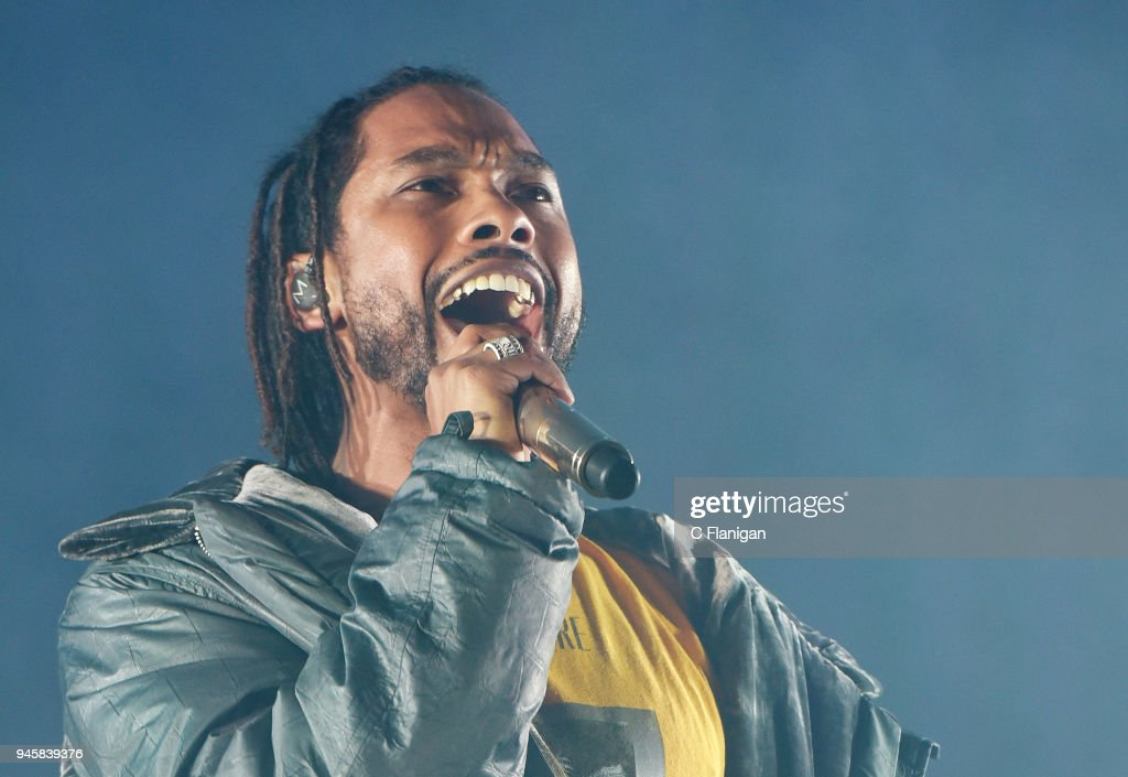 Miguel Performs At The Greek Theatre