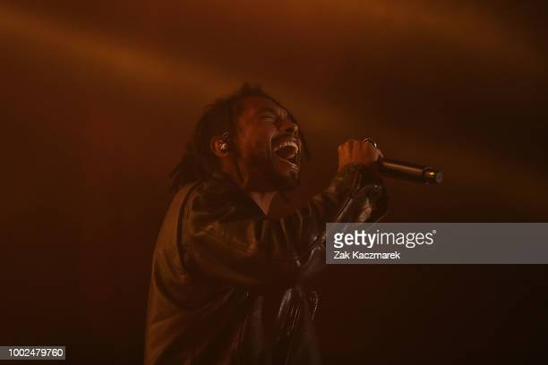 Miguel performs during Splendour in the Grass 2018 on July 20 2018 in Byron Bay Australia