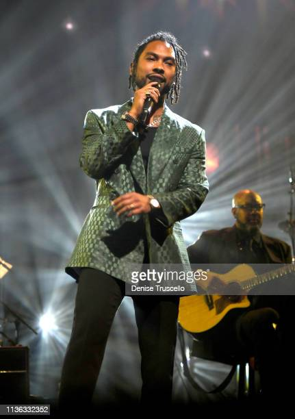 Miguel performs during the 23rd annual Keep Memory Alive 'Power of Love Gala' benefit for the Cleveland Clinic Lou Ruvo Center for Brain Health at...