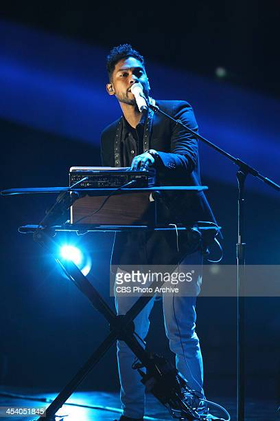 Miguel performs during the THE GRAMMY NOMINATIONS CONCERT LIVE Ñ COUNTDOWN TO MUSIC'S BIGGEST NIGHT¨ broadcast Friday Dec 6 on the CBS Television...