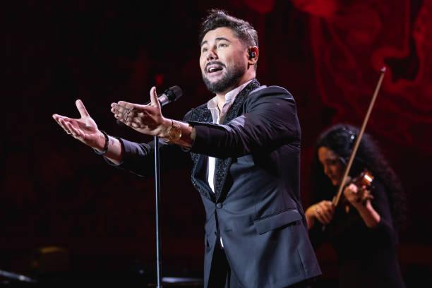 ESP: Miguel Poveda Concert In Barcelona