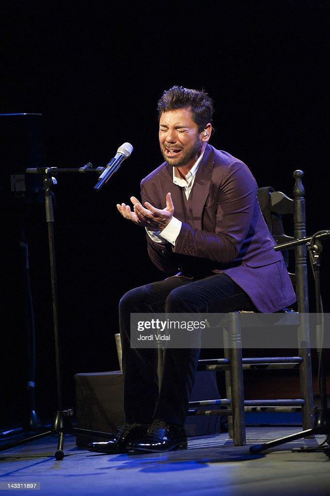 Miguel Poveda Performs In Barcelona