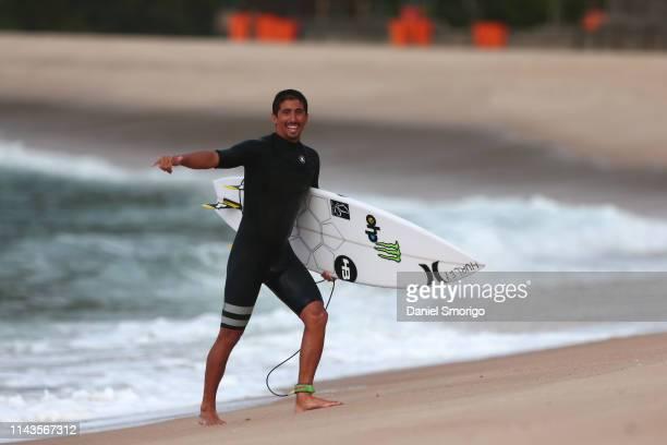 Miguel Pupo of Brazil competing in the 2016 Oi Rio Pro in Rio de Janeiro, Brazil.