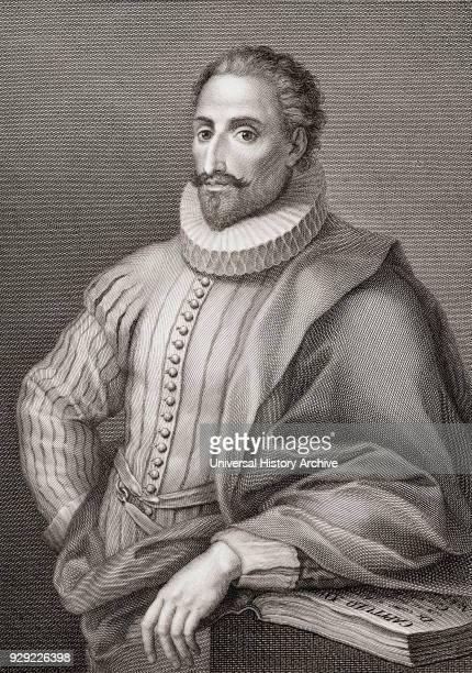 Miguel Saavedra de Cervantes 15471616 Spanish writer author of Don Quixote de la Mancha