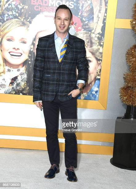 Miguel Sagaz arrives at the Premiere Of STX Entertainment's 'A Bad Moms Christmas' at Regency Village Theatre on October 30 2017 in Westwood...