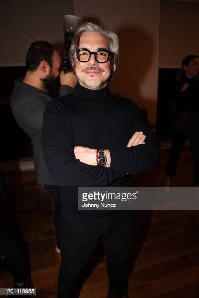 Miguel Sirgado attends the Marias By Alida Boer Cocktail Reception on January 22, 2020 in New York City.