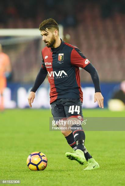 Miguel Veloso of Genoa CFC in action during the Serie A match between SSC Napoli and Genoa CFC at Stadio San Paolo on February 10 2017 in Naples Italy